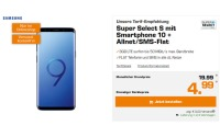 Super Select S Tarif Samsung Galaxy S9