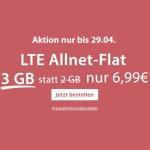 PremiumSIM Weekend Deal: LTE S Tarif mit 2GB + 1GB extra für 6,99€