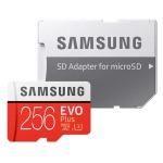 Samsung EVO Plus microSDHC 256 GB Speicherkarte für 40€
