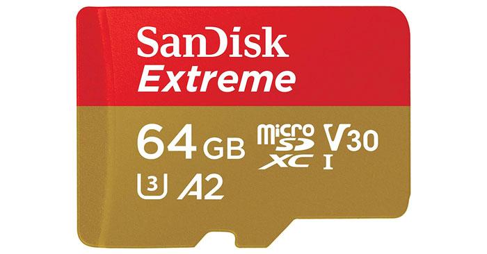 SanDisk Extreme microSDXC Speicherkarte