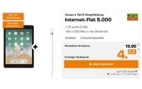 Vodafone Internet-Flat 5000 + iPad 2018