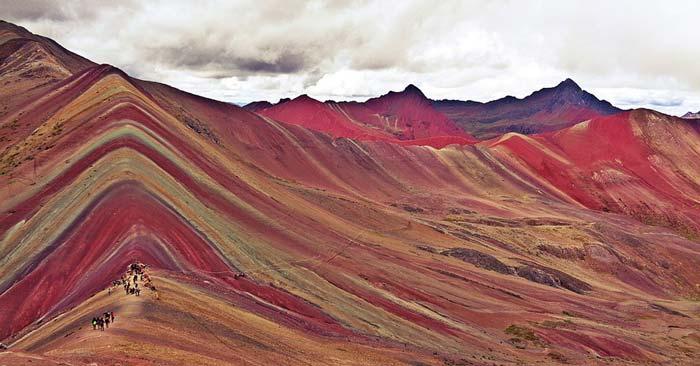 Peru Cusco Rainbow Mountains