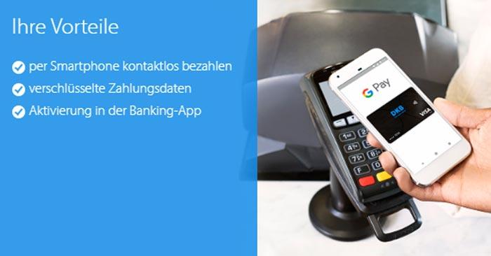 DKB Google Pay Aktivierung