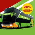 FlixBus Gutscheinkarte mit 20% Rabatt bei Penny (auch FlixTrain)