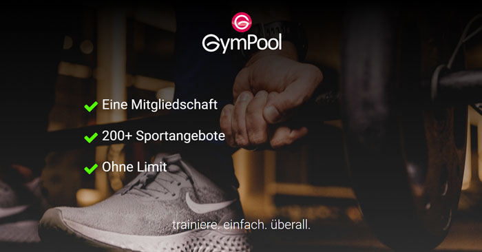 Gympool Mitgliedschaft