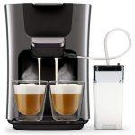 Philips Senseo Latte Duo HD6574 Kaffeepadmaschine inkl. Milchbehälter für 116,99€