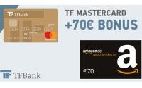 TFBank Kreditkarte Amazon Gutschein