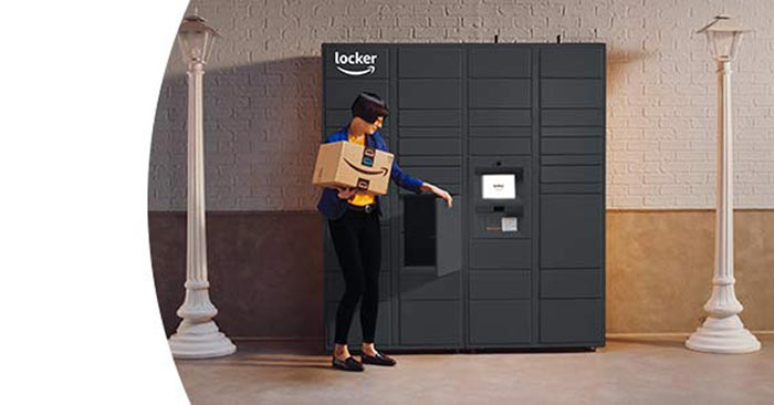 Amazon Locker Packstationen