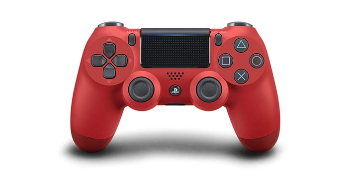 PlayStation 4 DualShock Wireless Controller Rot