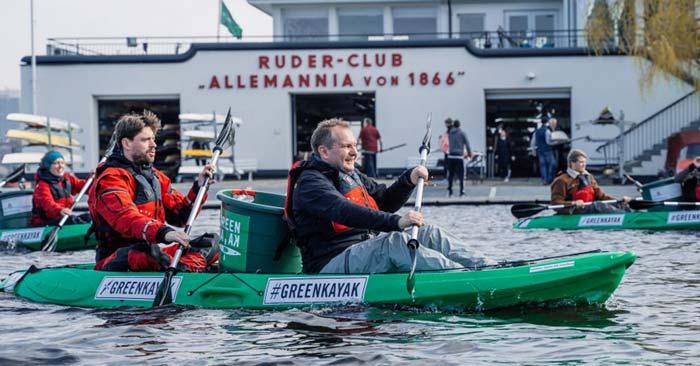 Greenkayak Aktion