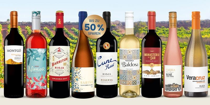 Vinos Sommerpakete