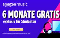 Amazon Music Studenten Angebot