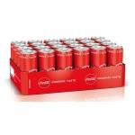 24x Dosen Coca Cola, Sprite oder Coca Cola Zero (330 ml) für 9,99€