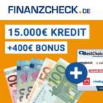 Finanzcheck Ratenkredit