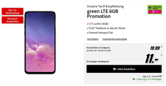 Telekom Green LTE 6GB Tarif