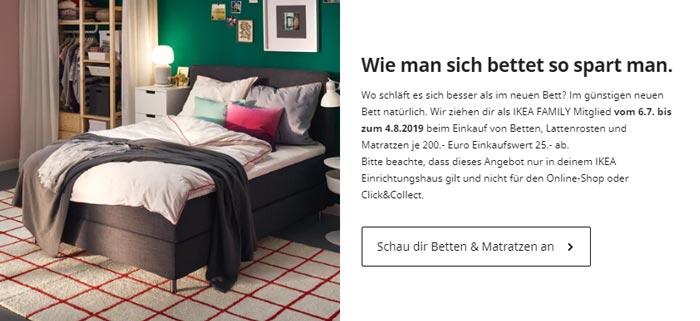 IKEA Betten Aktion