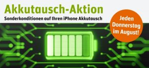 iPhone Akkutausch