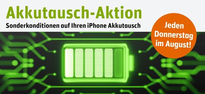 iPhone Akkutausch