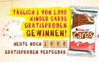 Kinder Cards kostenlos testen