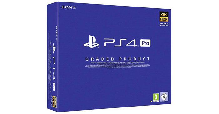 Generalüberholte Playstation 4 Pro 1TB