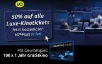 UCI Luxe Kinotickets