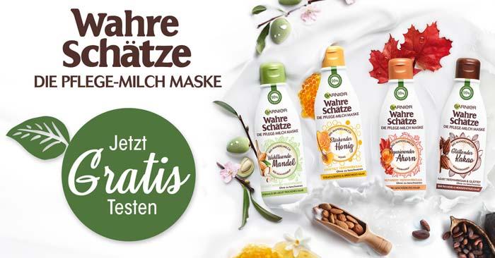 Garnier Wahre Schätze Pflege-Milch Maske