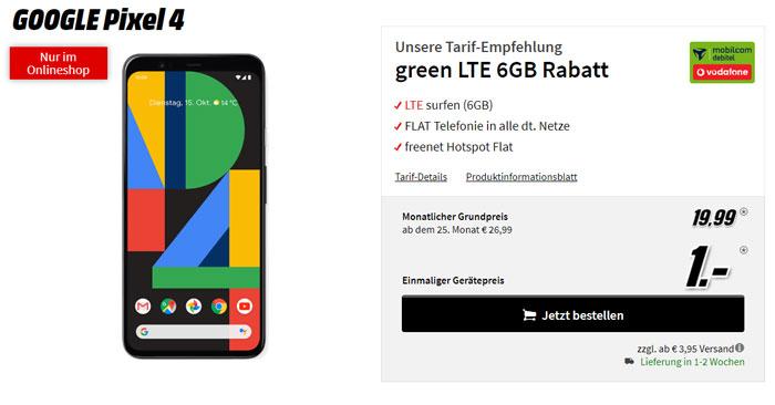Mobilcom-Debitel Green LTE 6GB Tarif