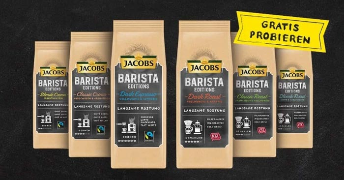 Jacobs Barista Editions gratis testen