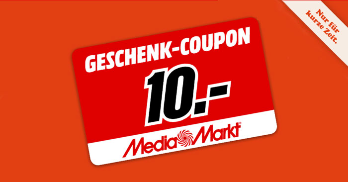 Media Markt Couponaktion
