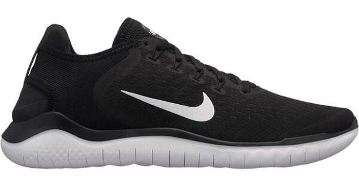 Nike Free Run 2018 Sneaker (schwarzweiß) für 53,99€