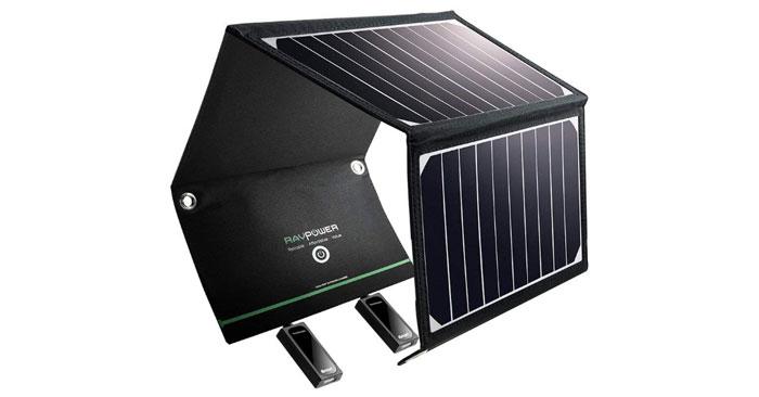 RAVPower Solar Ladegerät