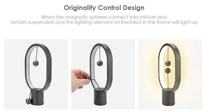 Utorch LED Tischlampe einschalten