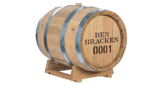 Ben Bracken Whiskyfass