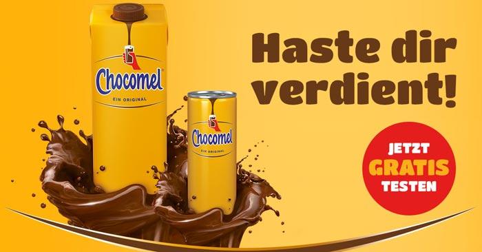 Chocomel Schokomilch gratis testen