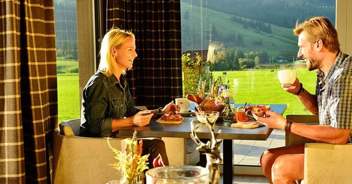 fairhotel Hochfilzen Frühstück