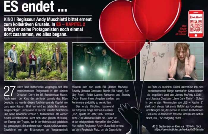McDonald's Kino Magazin Seite 5 Whopper Gutschein