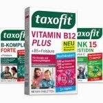 Taxofit Nahrungsergänzungsmittel gratis testen