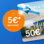 Aral SuperCard für 50€ kaufen + 5€ Bonus