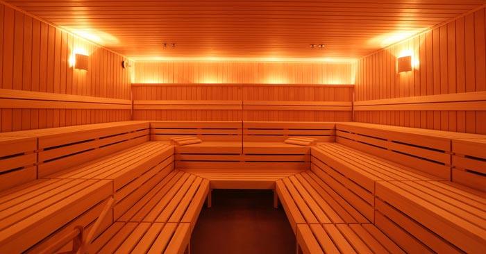 benefit Sauna