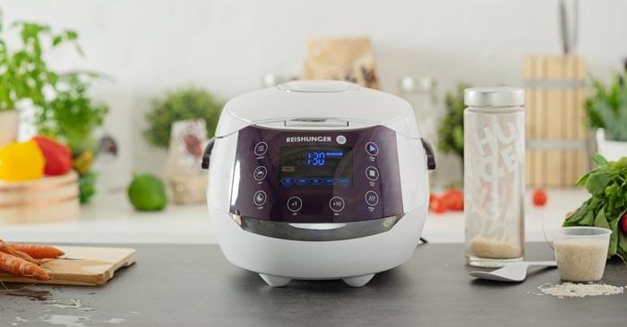 Digitaler Reishunger Reiskocher