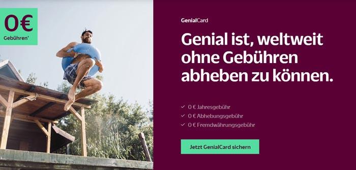Übersicht Vorteile GenialCard
