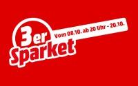 Media Markt 3er Sparket Aktion