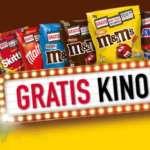 Gratis Kino-Ticket beim Kauf von M&M's, Skittles, Snickers, Mars, Twix oder Maltesers für mind. 10€