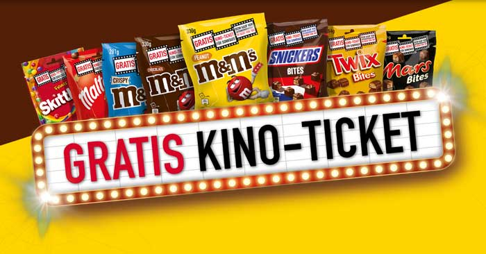 Gratis Kino-Ticket