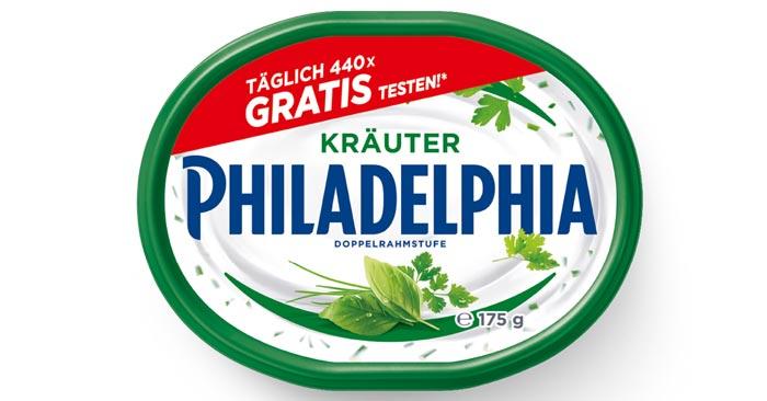 Philadelphia Kräuter Frischkäse Cashback