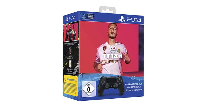 Playstation 4 DualShock Controller + FIFA 20