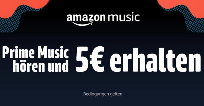 Amazon Prime Music Aktion