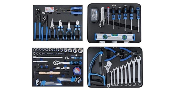Inhalt BGS Werkzeugkoffer