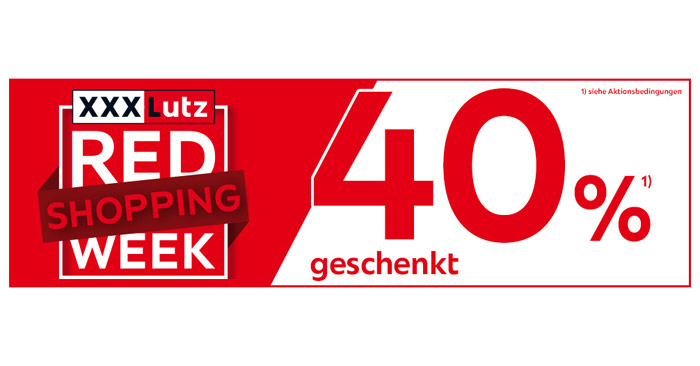 XXXLutz Red Shopping Week