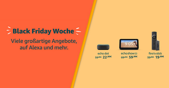 Amazon Black Friday Woche